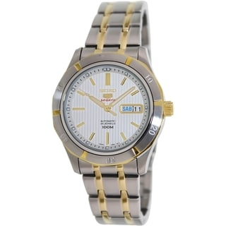 Seiko Men's '5 Automatic' SRP290K Two-tone Automatic Watch
