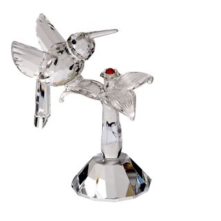 Crystal Florida Crystal Hummingbird Figurine