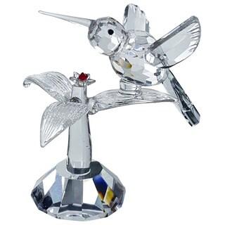 Crystal Florida Crystal Hummingbird Figurine