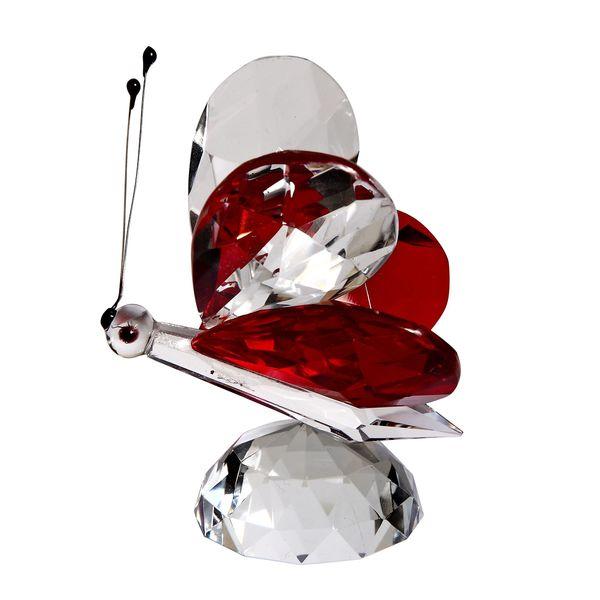 Crystal Florida Crystal Butterfly Figurine