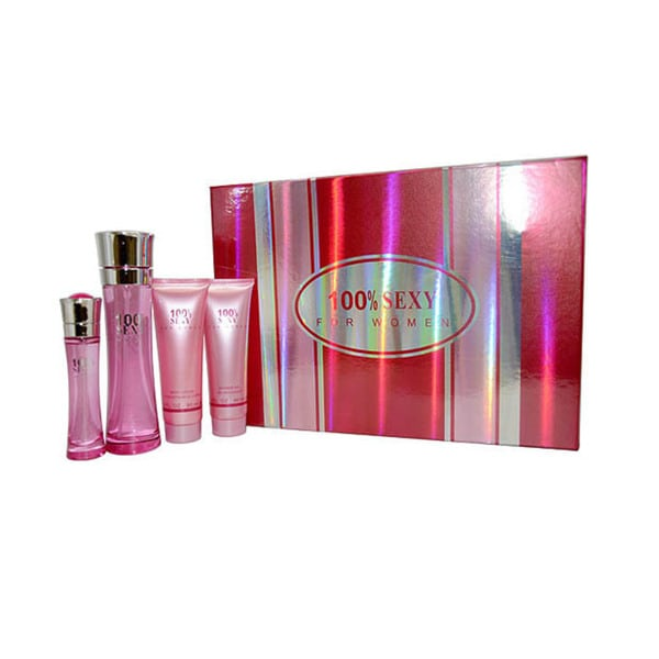 100% Perfume Inc Sexy Women's 4-piece Gift Set