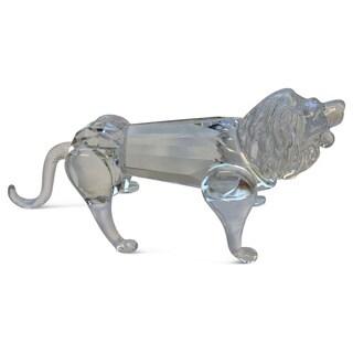 Crystal Florida Crystal Lion Sculpture