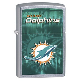 Zippo NFL Miami Dolphins Refillable Lighter