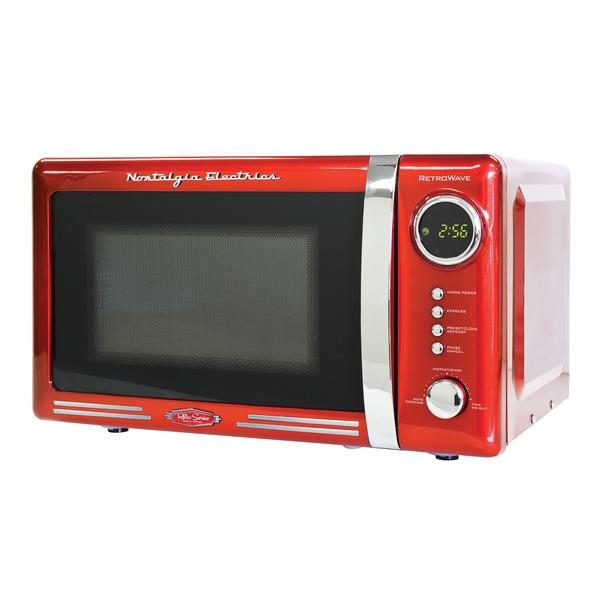 Nostalgia Electrics Retro Series 0.7-Cubic Foot Microwave Oven 11791913