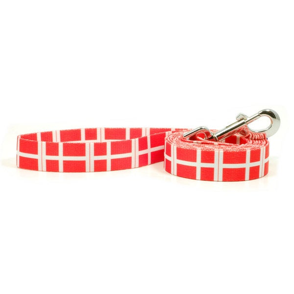 PatriaPet Danish Flag Dog Leash