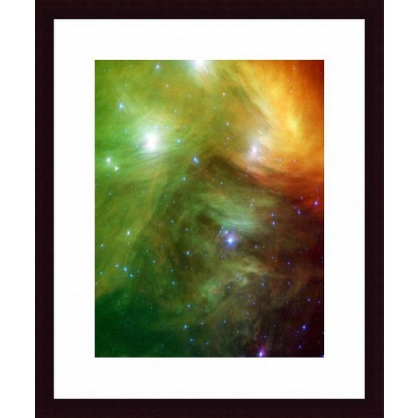'The Seven Sisters, also known as the Pleiades' Framed Print