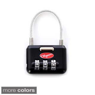 Olympia Metal 3-dial Combination Luggage Lock