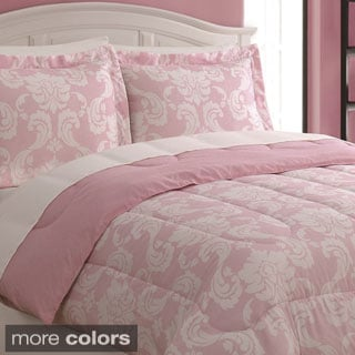 Dainty Damask 3-piece Comforter Set
