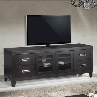70 inch transitional tv stand overstock shopping great deals on furnitech entertainment centers. Black Bedroom Furniture Sets. Home Design Ideas
