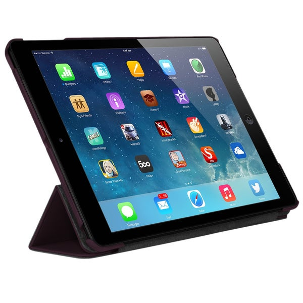 "Targus Triad THD03803US Carrying Case for 9.7"" iPad Air - Black Cherr"