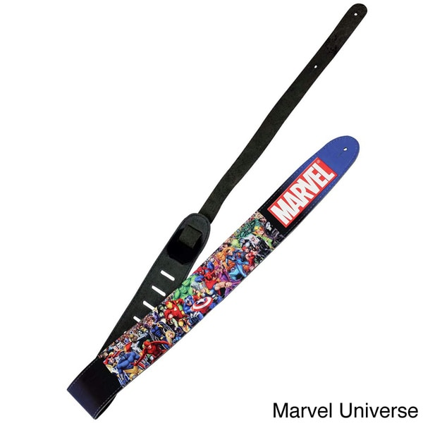 Peavey Marvel Universe Leather Guitar Strap
