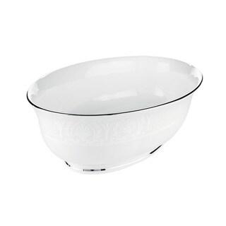 Lenox 'Hannah Platinum' 9.5-inch Open Vegetable Bowl
