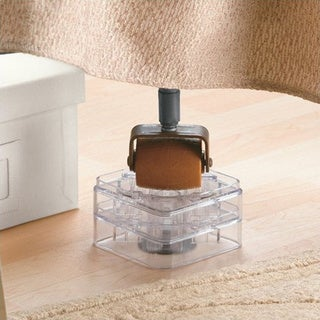 Clear Bed Risers (Set of 8)