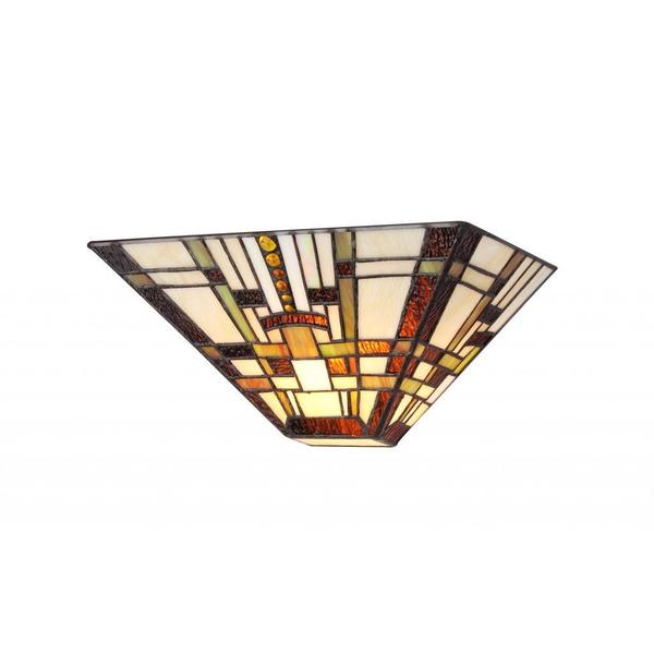Wall Sconces Tiffany Style : Tiffany Style Mission Design 1-light Wall Sconce