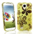 BasAcc Golden Butterflies Case for Samsung� Galaxy S IV/ S4 i9500