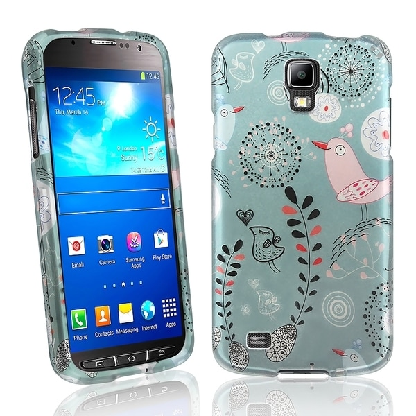 BasAcc Dandelion Rubber Coated Case for Samsung© Galaxy S4 Active