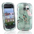 BasAcc Dandelion Rubber Coated Case for Samsung Galaxy Centura S738C