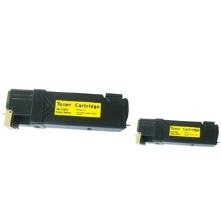 INSTEN 2-ink Yellow Cartridge Set for Dell 2150/ 2155