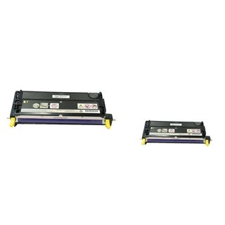 INSTEN 2-ink Yellow Cartridge Set for Dell 3110/ 3115