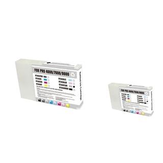 INSTEN 2-ink Light Blue Cartridge Set for Epson T543700LB
