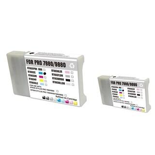 INSTEN Epson T6032C 220ml 2-ink Cyan Cartridge Set (Remanufactured)