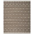 Safavieh Hand-woven Natural Kilim Brown/ Ivory Wool Rug (8' x 10')