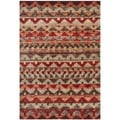 Safavieh Tahoe Brown/ Terracotta Rug (8' x 10')