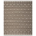 Safavieh Hand-woven Natural Kilim Brown/ Ivory Wool Rug (9' x 12')