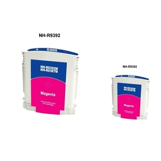BasAcc Magenta Ink Cartridge for HP 88 (Remanufactured) (Pack of 2)