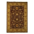 Safavieh Hand-knotted Old World Red/ Light Gold Wool Rug (10' x 14')