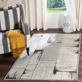 Safavieh Paradise Grey/ Anthracite Viscose Rug (8' x 11'2)