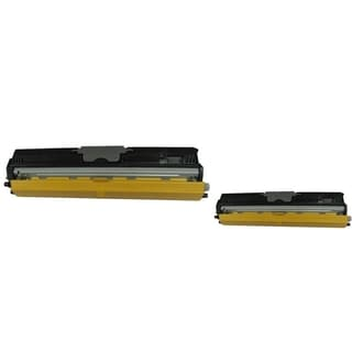 BasAcc Toner Cartridge Compatible with Konica-Minolta Magiccolor 1600 (Pack of 2)