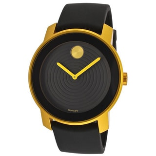 Movado Bold Men's 3600167 Black Rubber Strap Quartz Watch