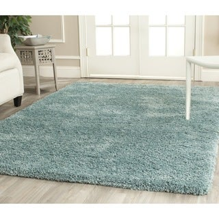 Safavieh Shag Light Blue Rug (6'7 Square)