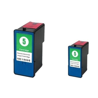 Lexmark 5 Color Ink Cartridge (Remanufactured) (Pack of 2)