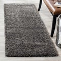 Safavieh Shag Dark Grey Rug (2'3 x 15')
