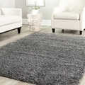 Safavieh Shag Dark Grey Rug (4' Square)
