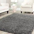 Safavieh Shag Dark Grey Rug (8'6 Square)