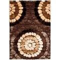 Safavieh Shag Brown Rug (6' x 9')