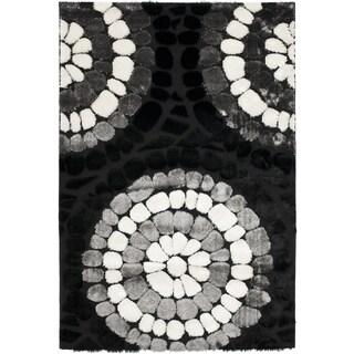 Safavieh Shag Black Rug (8'6 x 12')