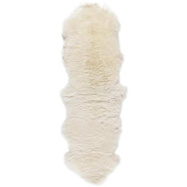 Safavieh Hand Woven Sheep Skin White Sheep Skin Rug 2 X