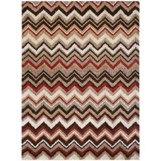 Safavieh Tahoe Beige/ Brown Rug (8' x 10')