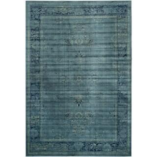Safavieh Vintage Turquoise Oriental Viscose Rug (8' x 11'2)