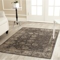 Safavieh Vintage Soft Anthracite Viscose Rug (7'6 x 10'6)