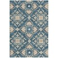 Safavieh Handmade Wyndham Blue/ Grey Wool Rug (2' x 3')