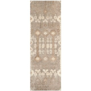 Safavieh Handmade Wyndham Natural Wool Rug (2'3 x 9')