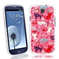 BasAcc Funny Cats UV Case for Samsung Galaxy S III / S3 i9300