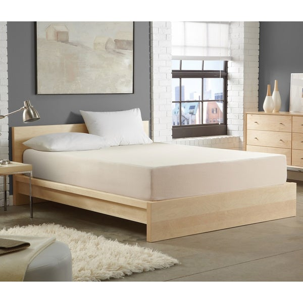 WHITE by Sarah Peyton 10-inch Convection Cooled Firm Support Queen-size Memory Foam Mattress