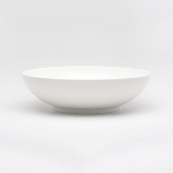 Red Vanilla Every Time 144-ounce White Salad Bowl