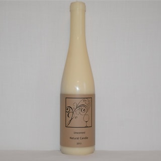 Candles and Corks Natural Wine Bottle Candle